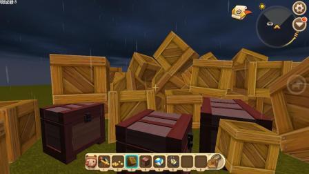 迷你世界: 新版木箱子上线, 和储物箱有什么区别呢, 快来看看!