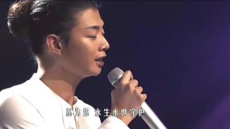 霍尊献唱一首浓浓中国风的歌曲, 不愧是火风的儿子