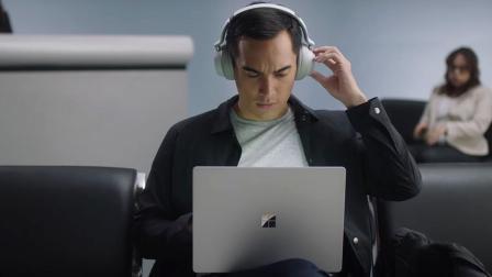 聚点视频 微软研发3年推出首款降噪耳机