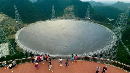 """中国天眼遇到特大暴雨, 如何将""""大锅""""中的雨水排出去?"""