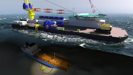 实拍韩国沉没油轮原油打捞历时21天, 20年才想起来, 这是缺油了?