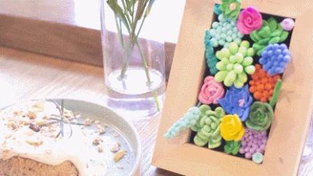 烂泥巴也能变废为宝, 手工DIY多肉相框简直是艺术级!