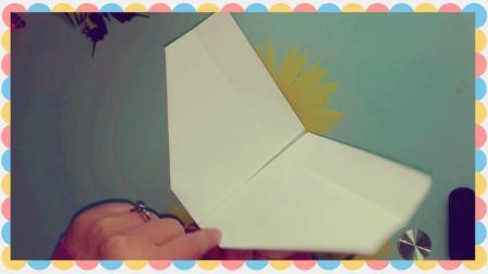 有趣的折纸: 会扇动翅膀的飞机