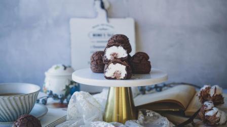 我的日常料理 第三季 教你制作一款风靡日本的治愈系甜点-巧克力脆皮奶油泡芙