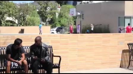 恶作剧: 黑人男子在路边整路人, 展示自己的超凡能力