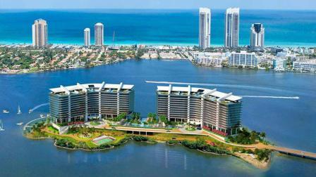 航拍美帝的度假天堂城市-迈阿密, 一个超出众望的文化海滩城市