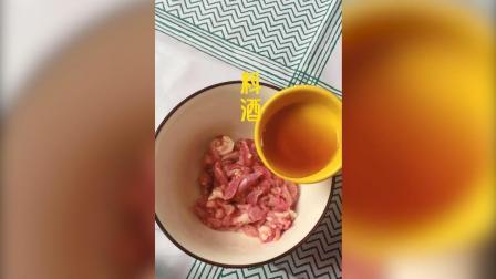 蒜薹肉丝焖饼丝, 好吃又简单的主食, 学起来吧