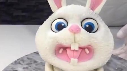 翻糖蛋糕之小兔子造型做法
