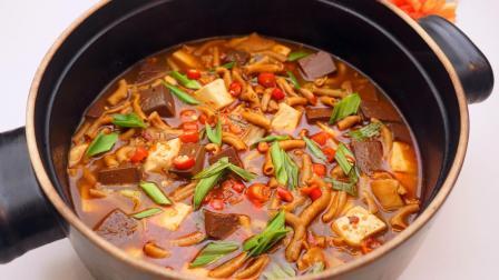 """天冷了, 来份""""鸭血豆腐煲"""", 麻辣鲜香, 开胃下饭!"""