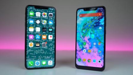 iPhoneXSMAX对比小米8, 售价万元的MAX居然被小米8打败, 扎心了