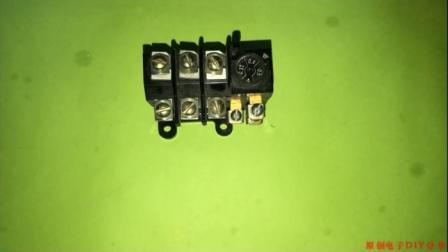 热继电器在星三角启动电路图中的应用! 这个问题很容易被忽略
