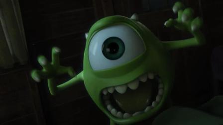 怪兽大学: 大眼仔吓唬小朋友不成反倒被小朋友吓唬?