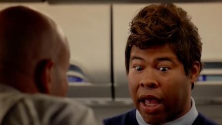 四川方言 飞机遇强气流 黑人小伙非要上厕所 结局笑安逸