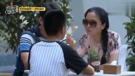韩国综艺拍到中国旅客吃饭, 全程笑料不断, 不愧是中国妈妈