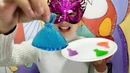 """妹子试吃""""芭蕾裙果冻"""", 华贵艳丽, 吃起来水润Q弹超美味"""