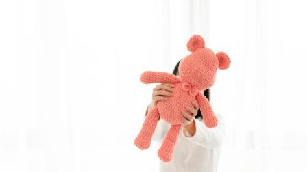 [270]巧织馆-大号暴力熊蝴蝶结织法好看的编织视频07月13日更新