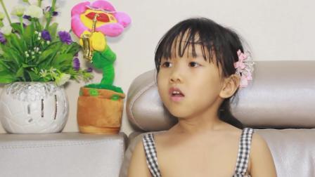 爆笑萌娃: 熊孩子考试成绩差, 打算让妈妈买望远镜, 真是笑话!