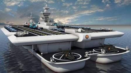 """中国又一超级工程, """"海上浮岛基地""""即将亮相, 是航空母舰的5倍"""
