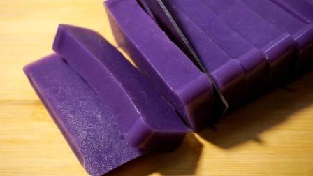 紫薯新做法, 不用一滴油, 软糯Q弹, 无添加, 比果冻还好吃