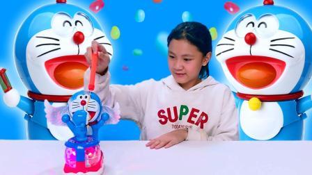 另一剧场:儿童玩具 哆啦A梦电动玩具车, 儿童小汽车音乐玩具车