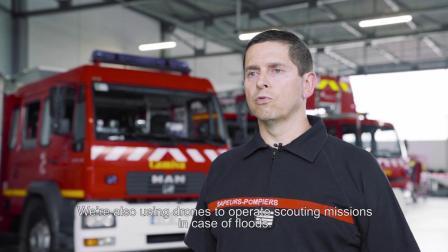 派诺特ANAFI Work 商用无人机 公共安全 警用 消防应用