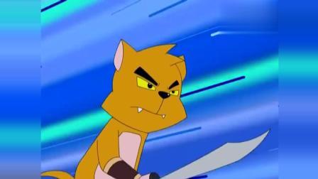 福五鼠战国风云: 混战有逃兵? 猫将发现地道!