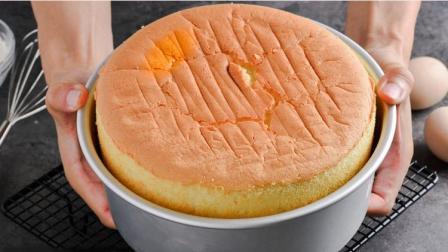 教你用烤箱烤蛋糕的做法, 步骤详细, 在家自己做蛋糕不用到外面买