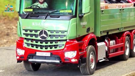 重型大卡车挖掘机装载车和工业机械车辆玩具, 追风亲子游戏