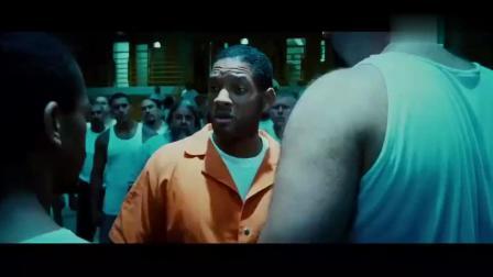 超人进监狱遭其他罪犯挑衅, 先礼后兵, 一秒钟制服对手