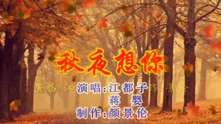 江都子、蒋婴《秋夜想你》, 歌曲优美动听, 给力!