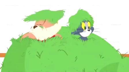 猫和老鼠: 汤姆和小狗哥哥连手对付新猫, 让主人把讨厌的新猫给送走了!