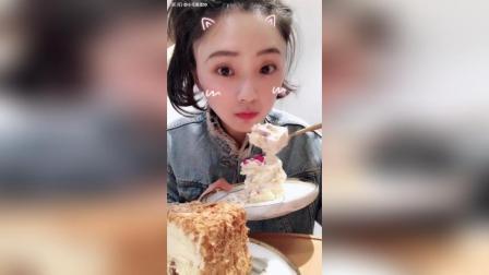 荔枝玫瑰栗子蛋糕