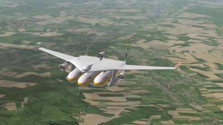 这个飞机厉害了! 可以直接把高铁带上天, 真的不怕掉下来吗