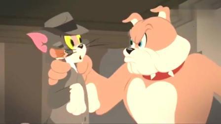 猫和老鼠: 汤姆和杰瑞抓住了偷东西的盗贼, 没想这个盗贼就是黑猫, 这也是有点坏的呀~