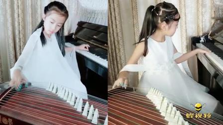 吉林延吉9岁女孩绝技走红网络: 左手弹钢琴右手弹古筝