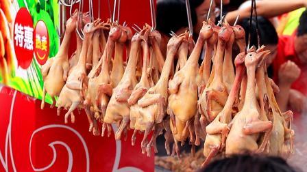 """实拍广东传统名菜""""红烧乳鸽""""一只不到30元, 生意火爆日售400只"""