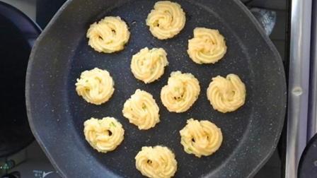 烤箱黄油全不用, 教你做曲奇饼干, 比买的好吃, 看一遍就会