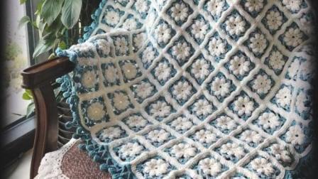 【金贝贝手工坊269辑】M104雪绒花毯(上集)毛线钩针编织冬日雪花毯子DIY视频教程编织的全部视频