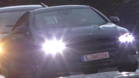 外观细节调整 曝新款奔驰E级Coupe谍照