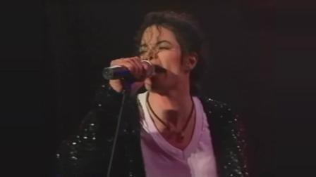 迈克尔杰克逊演唱会, 戴起帽子的瞬间全场沸腾, 太空舞的魅力!