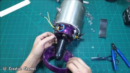 微型涡喷发动机细步拆解