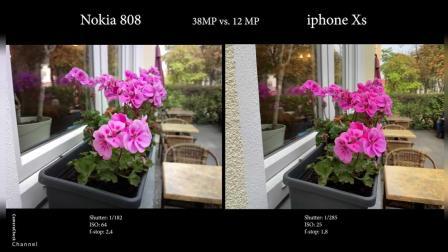 5年前的手机和iPhone Xs 比拍照, 苹果和诺基亚的差距竟如此!