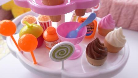 好玩的棒棒糖冰激凌甜品玩具