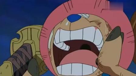 海贼王: 大家疯狂寻找, 乔巴大喊: 路飞, 罗宾要被抓走了!