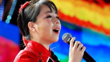 王二妮演唱山西民歌《大红公鸡毛腿腿》这唱功太棒了