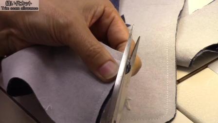 P5领子制作-牛仔衬衫制作-日式制衣-一起来缝纫