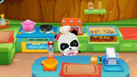 宝宝巴士亲子游戏 第112集 奇妙美食餐厅 宝宝巴士美食屋 宝宝巴士儿歌舞蹈儿童玩具