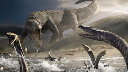 史前巨鳄有多强大? 这两种史前鳄鱼, 恐龙只是它的食物之一