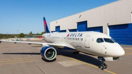 达美航空首架A220飞机总装记录