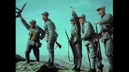 最经典战争片! 无特效, 却满山遍野都是战士!